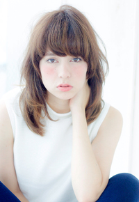 梨花さん風 ハイレイヤーミディアム【N-345】