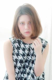 ワンカール ひし形シルエットボブ【N-393】
