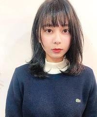 【Lila by afloat /小笠原 剛】シースルーバングナチュラルストレート T−22