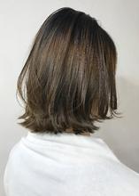 柔らかカラー*ミルクティーベージュ【k39】|Lila by afloatのヘアスタイル