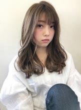 フェミニンカジュアル大人ゆるふわヘア【k66】|Lila by afloatのヘアスタイル