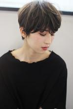 ひし形大人マニッシュショート M63|Lila by afloatのヘアスタイル