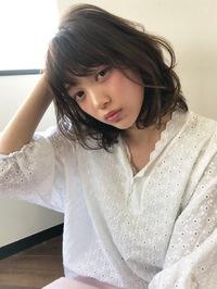 愛されラフ質感大人のフェミニンセミディ【k71】
