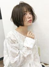 大人可愛いナチュラルガーリーショート【k80】|Lila by afloatのヘアスタイル