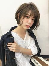 愛され可愛いカジュアルゆるふわショート【k81】|Lila by afloatのヘアスタイル