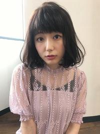 大人のゆるふわ柔らかフェミニンボブ【k91】