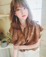ひし形セミディT4|Lila by afloatのヘアスタイル