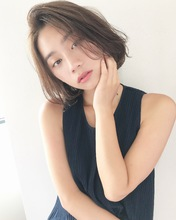 愛されハンサムボブ【k121】|Lila by afloatのヘアスタイル