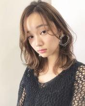 大人カジュアル愛されフェミニンレイヤー【k163】|Lila by afloatのヘアスタイル