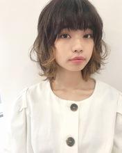 カジュアルインナーレイヤー【k167】|Lila by afloatのヘアスタイル