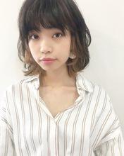 インナーカラーが可愛いナチュラルレイヤー【k168】|Lila by afloatのヘアスタイル