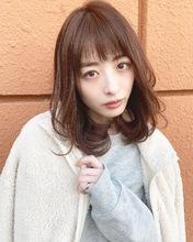 ひし形レイヤーゆるふわデジタルパーマ【k185】|Lila by afloatのヘアスタイル