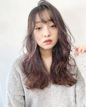 柔らかふんわりフェミニンパーマ【k185】|Lila by afloatのヘアスタイル