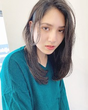 ナチュラル大人セミディ【k195】|Lila by afloatのヘアスタイル