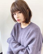 お手入れ簡単ラフに可愛いレイヤーボブ【k200】|Lila by afloatのヘアスタイル