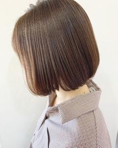 艶やかボブ【k224】|Lila by afloatのヘアスタイル