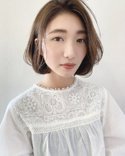 透明感ひし形レイヤー【k227】|Lila by afloatのヘアスタイル