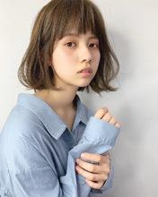 人気の可愛い切りっぱなしボブ【k242】|Lila by afloatのヘアスタイル