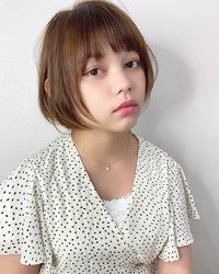 小顔カットショートボブ【k235】