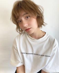 フェミカジュショート【k274】 Lila by afloatのヘアスタイル