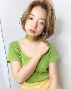 可愛いハンサムボブ【k302】 Lila by afloatのヘアスタイル