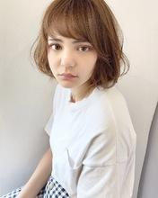 ふんわり柔らかレイヤーボブ【k303】|Lila by afloatのヘアスタイル