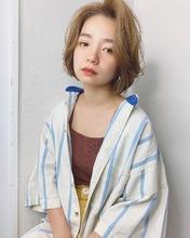 クール可愛いハンサムボブ【k304】|Lila by afloatのヘアスタイル