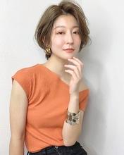 秋に可愛い大人ショート【k308】|Lila by afloatのヘアスタイル