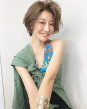 カジュアル可愛いハンサムボブ【k310】|Lila by afloatのヘアスタイル