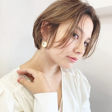 質感で魅せる大人のシンプルボブ【k337】|Lila by afloat 立野 克弥のキッズヘアスタイル