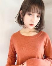 シンプル可愛い艶ボブ【k341】|Lila by afloat 立野 克弥のヘアスタイル