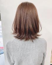 お客様hair*くびれレイヤーロブ【k346】|Lila by afloatのヘアスタイル