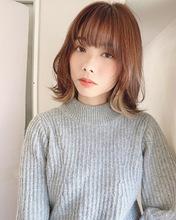 顔まわりを可愛くマッシュレイヤー【k351】|Lila by afloatのヘアスタイル
