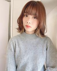 顔まわりを可愛くマッシュレイヤー【k351】