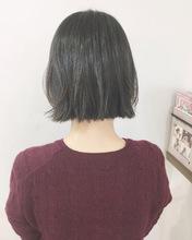 トレンド可愛い切りっぱなしボブ【k356】|Lila by afloatのヘアスタイル
