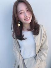 韓国風レイヤーで小慣れヘアーT−55|Lila by afloatのヘアスタイル