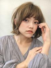 ゆるふわ外ハネボブ|Lila by afloatのヘアスタイル