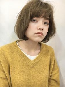 ワンレン重めバング|Lila by afloatのヘアスタイル