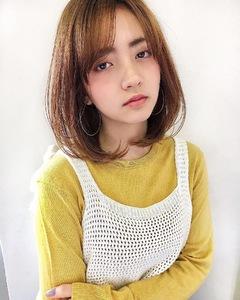 くるんとセミディ【s33】 Lila by afloatのヘアスタイル