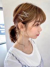 うぶ毛たっぷりポニーテール【s47】|Lila by afloatのヘアスタイル