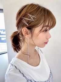 うぶ毛たっぷりポニーテール【s47】