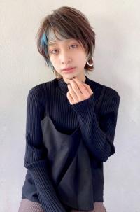 インナーカラー×ウルフショート【s83】