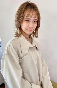 シースルーバング×くびれボブ【s85】