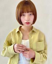 ちゅるんとしたミニボブ|Lila by afloatのキッズヘアスタイル