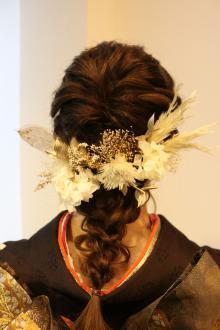 #2021成人式 #ヘアセット #編みおろし Loco Styleのヘアスタイル