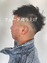 #フェード#男前|Loco Styleのヘアスタイル