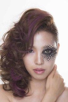 蝶のはばたく羽をイメージ|luxe 加須店のヘアスタイル