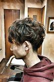 岡田将生風トレンドパーマ|madameのヘアスタイル