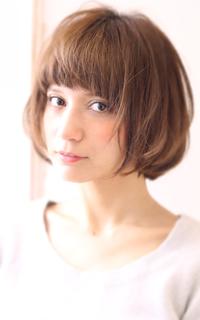 【Maria by afloat】吉澤侑子 ラフフレンチ透け色マッシュボブ