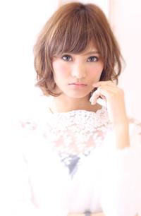 【Maria by afloat】吉澤侑子 大人フェミニンミックスカールボブ